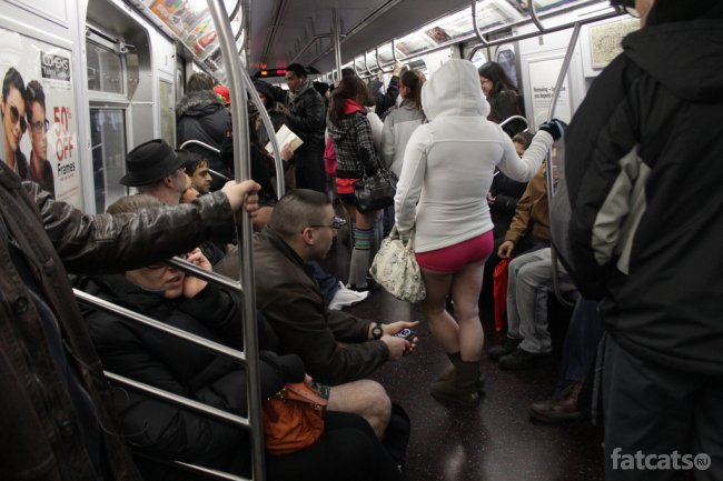No Pants Subway Ride 2012